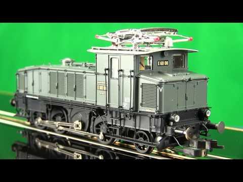 Fleischmann Model Trains 436071 Class E60 Electric Locomotive.