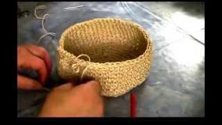 Körbchen Aus Wolle Häkeln Häkeltipps Für Jedermann Körbchen
