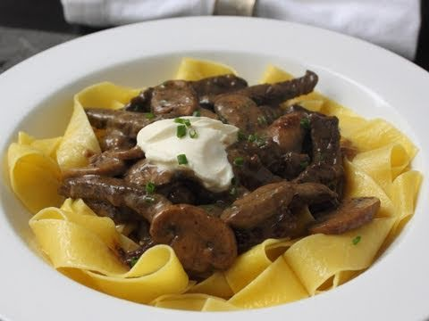 Beef Stroganoff Recipe - The Best Beef Stroganoff