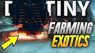 Destiny 2: *NEW* BEST WAY TO FARM EXOTIC ENGRAMS AND EXOTIC ITEMS! (Destiny 2 PS4 GAMEPLAY)