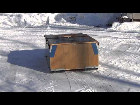 Portable Ice Fishing Shanty