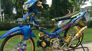 Modifikasi Vega Kolor Ijo Street Racing Keren Banget