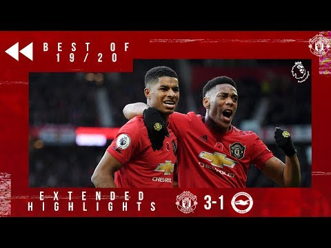 Best of 19/20 | United 3-1 Brighton | Andreas, McTominay & Rashford fire the Reds to victory!