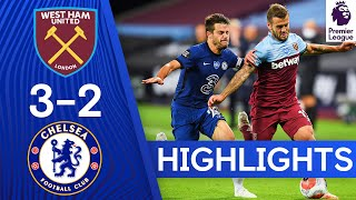 West Ham 3-2 Chelsea | Premier League Highlights