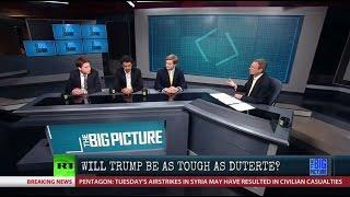 Rumble: Will Trump Be As Tough As Duterte?