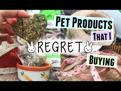 Pet Products That I REGRET Buying | RosieBunneh
