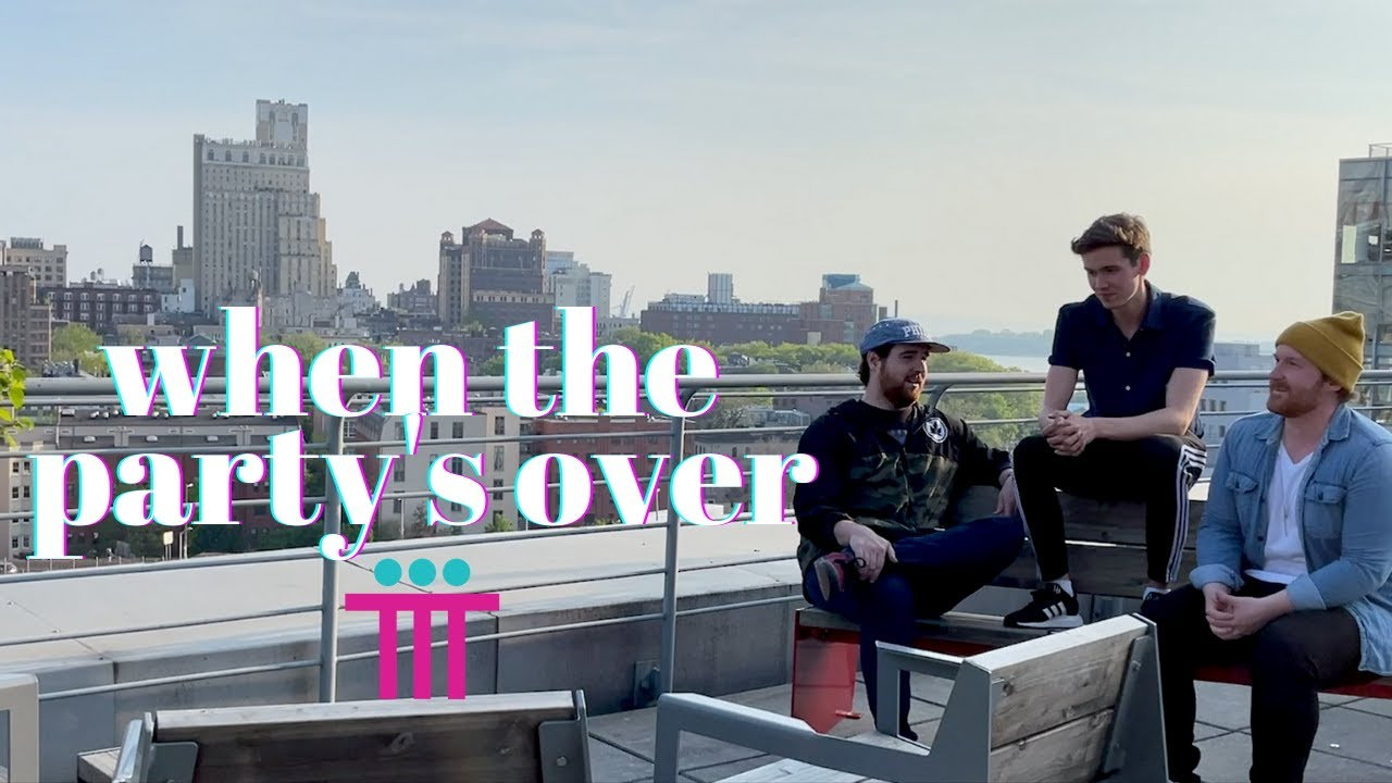 """""""when the party's over"""" - T.3 (Lyric Video)"""
