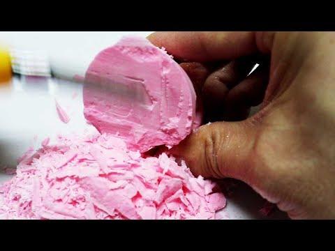 ASMR Cutting Chalk! DIY POP