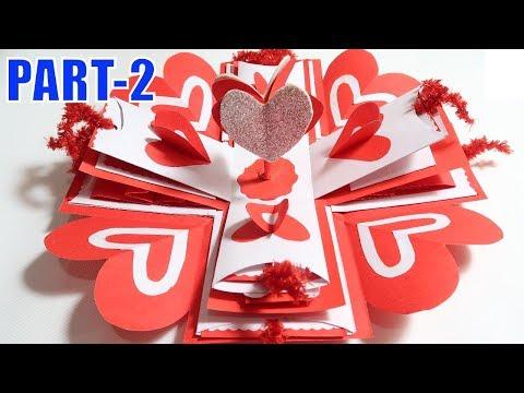 EXPLOSION BOX (PART-2)| BIRTHDAY GIFT IDEA | ANNIVERSARY GIFT IDEA | GIFT FOR BOY FRIEND