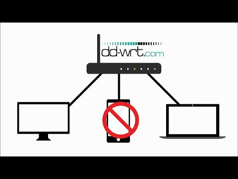 How to block a device in DD WRT router