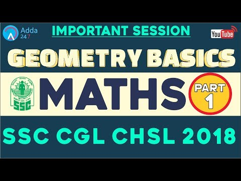 Night Class - SSC CHSL, CGL MAINS | Geometry Basics (PART-1) |