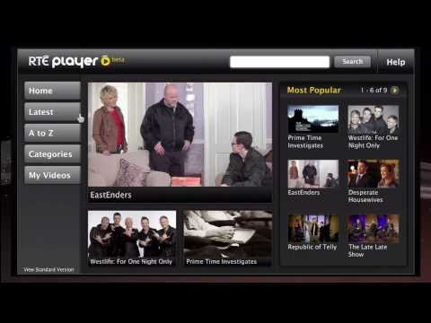 RTÉ Player for the PS3 [Videocast]