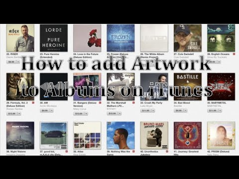 How to manually add album artwork on iTunes 12 (Mac and PC) (Easy)