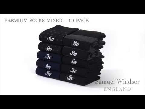 Premium Socks Mixed - 10 pack