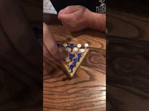 How to beat the peg board game at cracker barrel