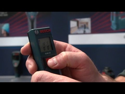 Las Vegas Hardware Show 2015: BOSCH Distance Measurer
