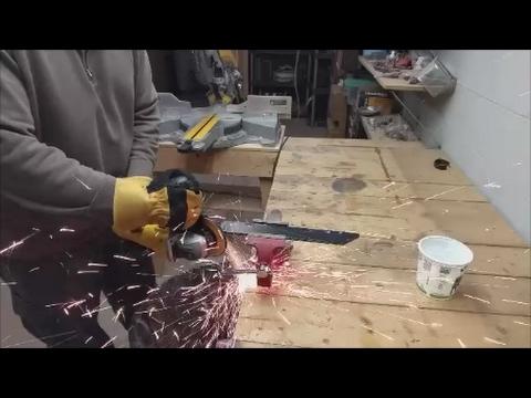 make a throwing knife