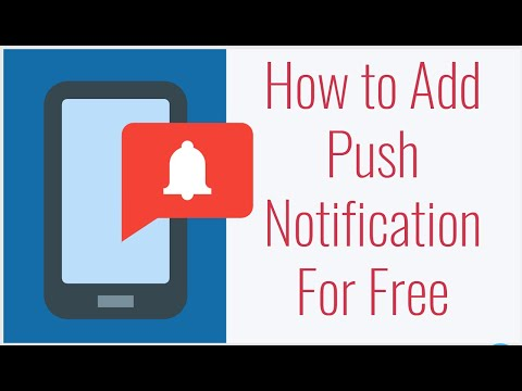 How to Add Push Notification to Your Website For Free