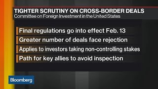 U.S. Tightens Rules for Foreign Deals