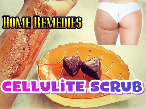 How to get rid of Cellulite | DIY coffee body scrub