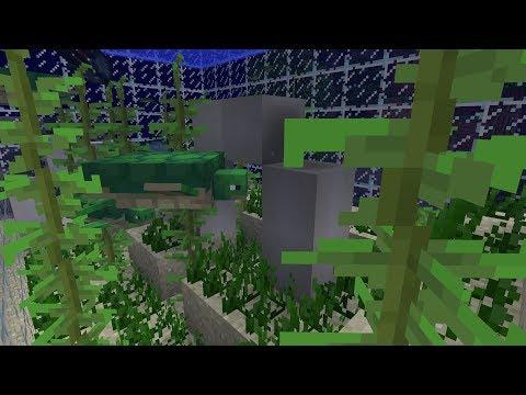 Making A Turtle Aquarium! - New Minecraft 1.13 Snapshot Concept Idea