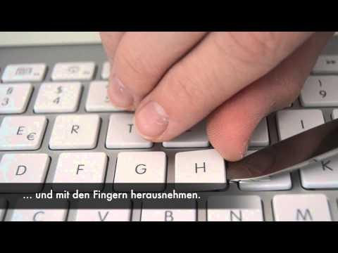 Apple Wireless Keyboard Tasten reinigen