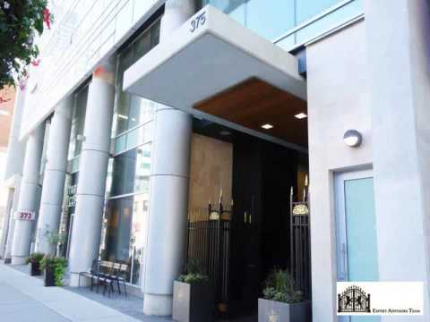 708-375 King St. West 1 Bedroom Toronto Condo Newly Listed For Sale near Air Canada Centre