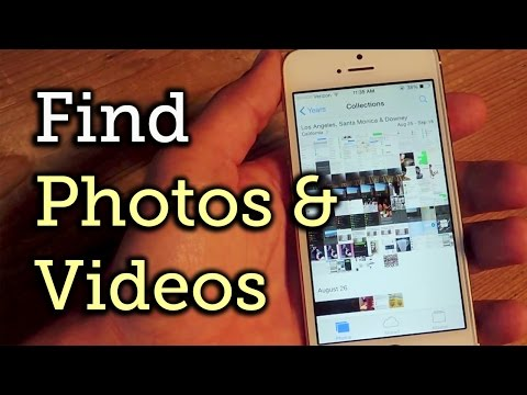 Find Your Missing Images & Videos in iOS 8's Photo App - iPad, iPhone [How-To]