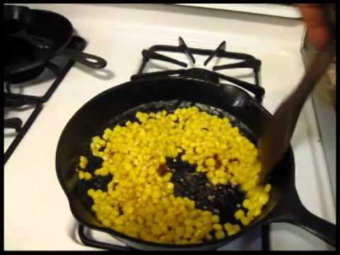 Cook'n from Stored Foods - Butter Fried Corn
