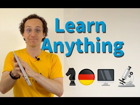 How to Teach Yourself Anything