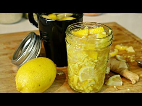 Honey Lemon Ginger Tea | Cold & Flu Remedy