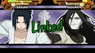 Naruto Ultimate Ninja 5 All Regular Jutsu / Normal Jutsu