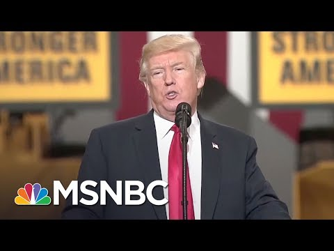 President Donald Trump Doesn't Know What A Community College Is | The 11th Hour | MSNBC