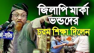 ভন্ডদের সাইজ করলেন চরম ভাবে New Waz Mahfil Allama Junaid Al Habib Bangla Waz 2018