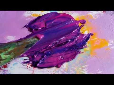 MIXING OIL PAINTS: Rich Purple