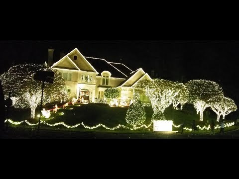 Christmas Lights Tour 2017 ~ Merry Christmas from Amy & Eric ~ Amy Learns to Cook