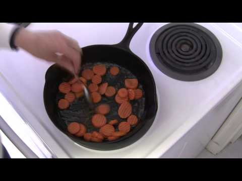 Cook Easy,  Fast Glazed Carrots (from frozen carrots)