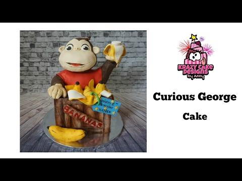 How to make curious george cake