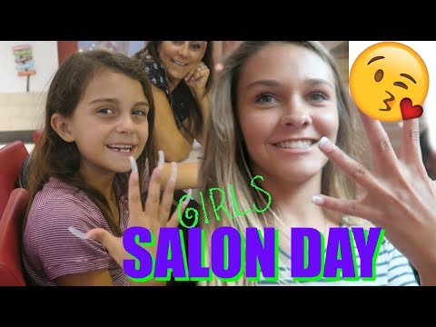 DAY AT THE SALON WITH EMMA AND ELLIE! BACK TO SCHOOL GIVEAWAY!