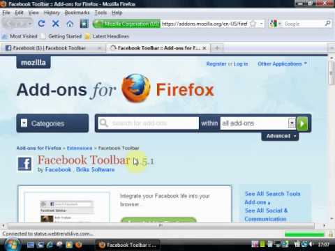 How To Download The Facebook Toolbar
