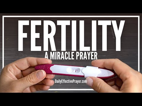 Prayer For Fertility, Getting Pregnant, and Conception - Infertility Be Gone
