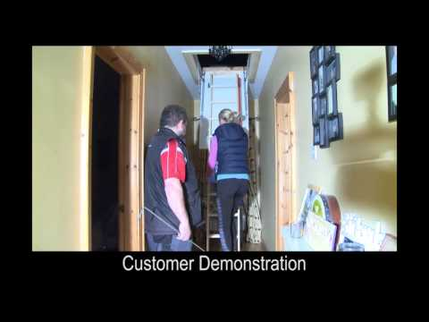 Tyrone Attic Stairs - Installation Video