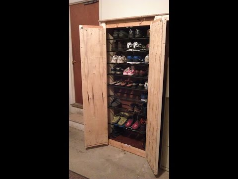 how to make a new shoes cabinet