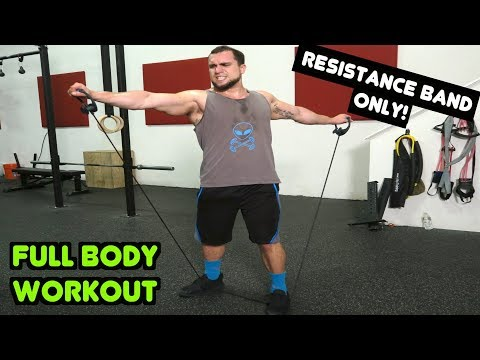 Intense 10 Minute FULL BODY Resistance Band Workout