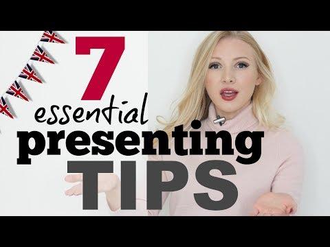 7 Tips for Presenting & Public Speaking #Spon