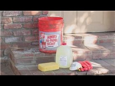 Concrete & Masonry : How to Clean a Brick Floor