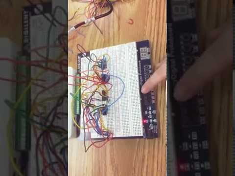 FIRST NAND GATE CIRCUIT + TWO CIRCUITS IN ONE BREADBOARD