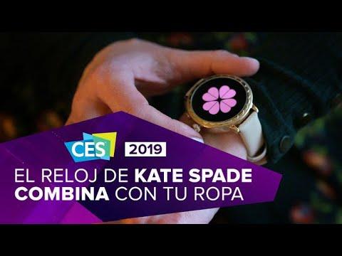 El nuevo smartwatch de Kate Spade combina el color de tu ropa con sus esferas