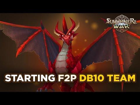 Starting F2P Dragons B10 Team!