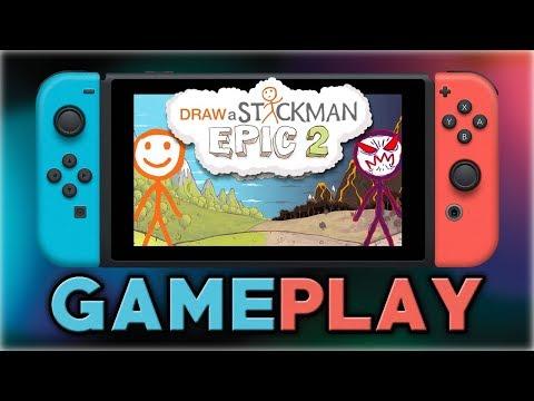 Draw a Stickman: EPIC 2 | First 20 Minutes | Nintendo Switch